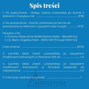 Litania Loretańska po łacinie