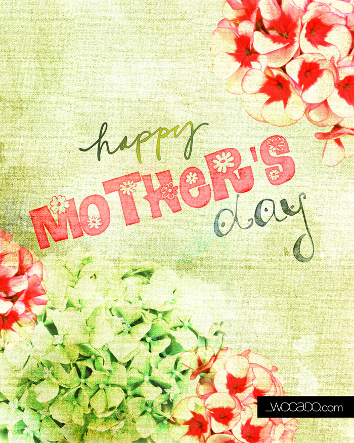 Happy Mother's Day - 8x10 Printable by WOCADO