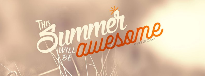 Awesome Summer Facebook Cover by WOCADO