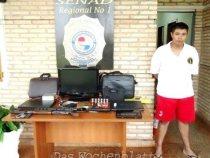 Mitglied des Primer Comando Capital (PCC) in Pedro Juan Caballero festgenommen