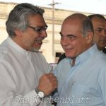 López Perito bestätigt das Lugo einen neuen Kanzler benennen wird