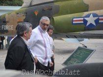 """Lugo in Vietnam: """"In den USA werden die Kriegsverbrecher Helden genannt"""""""