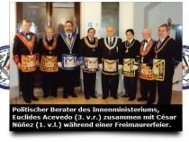 Freimaurerloge sichert sich wichtige Posten im Innenministerium