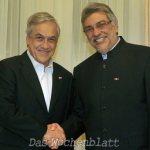 Piñera bezeichnet Paraguaybesuch als fruchtbar