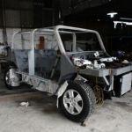 Paraguayisches Elektrofahrzeug fast fertig