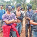 Indigene reagieren auf Gewalt