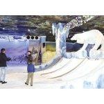 Der achtgrößte Eispark in Ciudad del Este