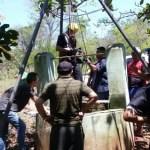Im Brunnen gefangen
