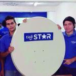 Tigo Satellitenfernsehen zum Angriff bereit