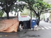 Brasilianische Botschaft geht gegen Demonstranten vor
