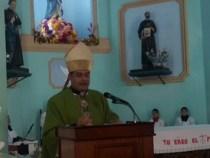 Bischof im Chaco ist verärgert