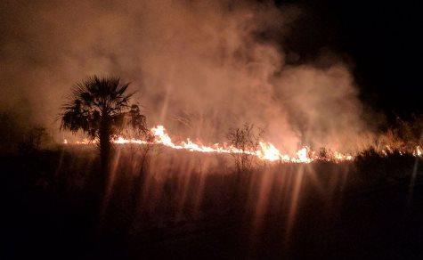 Chaco: An vielen Stellen brennt es