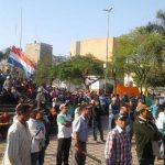 Campesinos sind zurück im Zentrum der Hauptstadt