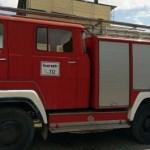 Feuerwehr für die Kolonie Carlos Pfannl