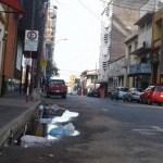 Asunción versinkt in schwarzen Gewässern