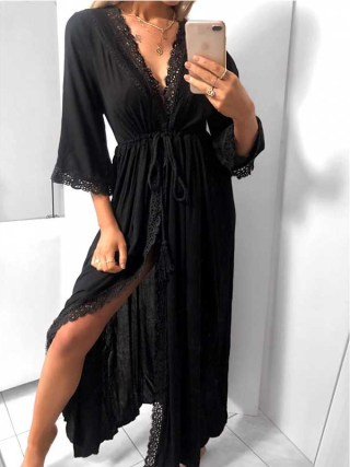 Beach Dresses And Tunics Chic Plus Size Long Designer Bodycon Dress For Woman 19 Boho Trendy Clothing Summer Sukienka Maxi