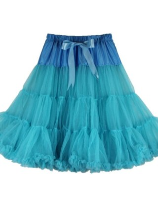Sexy Solid Colors One Layer Fluffy Pettiskirts For Women Adult Dance Party Tulle Tutu Skirt With Ribbon Knotbow Joker Skirts Len