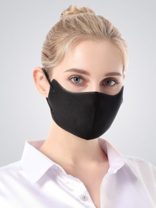 Fashion Breathable Mesh Mouth Mask Anti-Dust Sun Protection 3D Seamless Design Face Mask Women Prevent Saliva Cross Infection