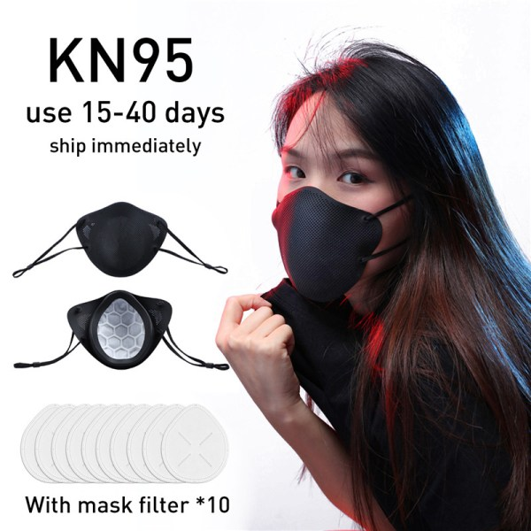 KN95 Mask PM2.5 Oral and Nasal Isolation Design Mask KN95 Anti-dust Masks Anti fog FFP3 respirator FILTER Mask