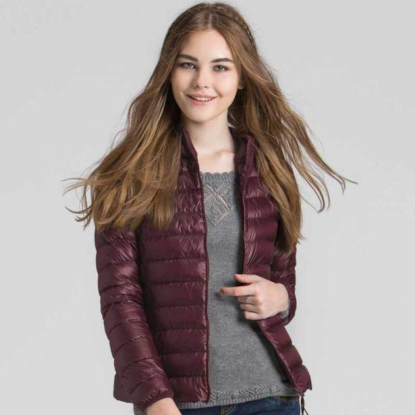 Autumn & Winter Extremely Gentle Quick Ladies Down Jacket