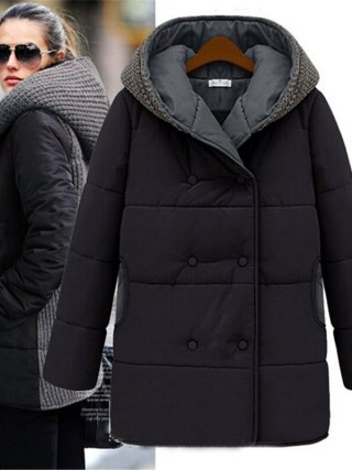 Winter Jacket Europe Fashion Parka Girls