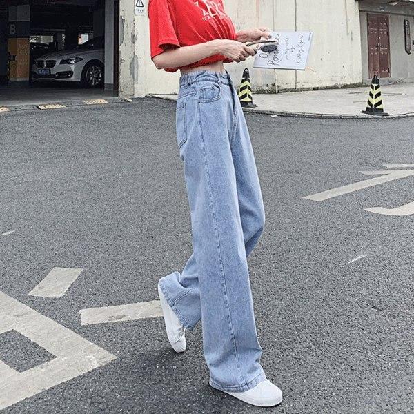 Large Leg Pants Mother Denims Ladies's Ripped Jeans