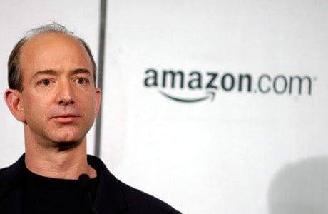The picture of Jeff Bezos