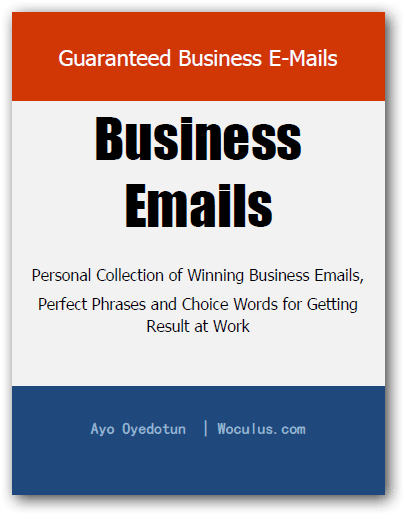 Guaranteed Business Emails (Tips & Samples) – FREE eBook
