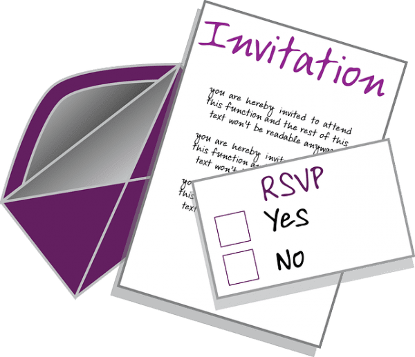 E-mail Examples for Accepting or Declining RSVP E-mails