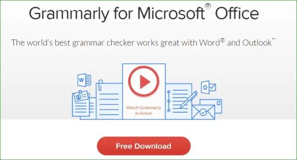 Microsoft Grammarly