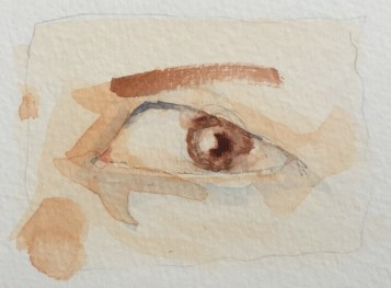 eye and nose