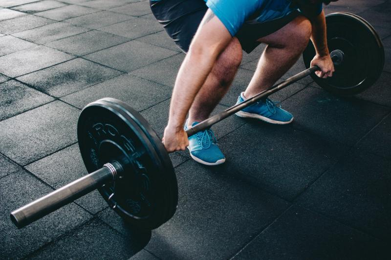 Focus on your Clean and Jerk form with low weight.