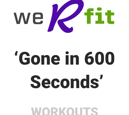 CrossFit Gone in 600 Seconds Workout