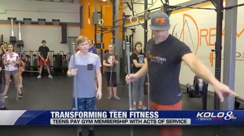 Dreamtown CrossFit Teen Service Program