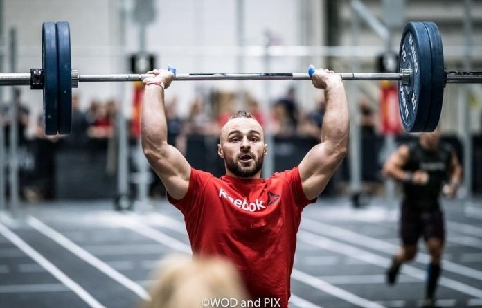 Bronislaw Olenkowicz at the 2019 CrossFit Strength in Depth Sanctional. Photo courtesy of WOD and PIX
