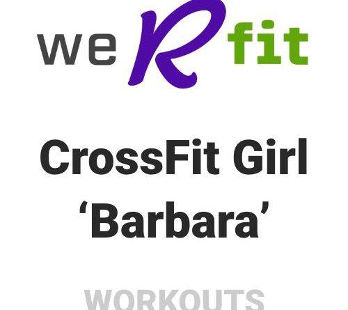 CrossFit Barbara Workout