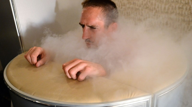 French football star Franck Ribery is one of the famous sports stars to have used cryotherapy. Photo- AP
