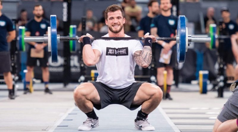 Willy Georges at the 2018 CrossFit Meridian Regional. Photo courtesy of CrossFit Inc