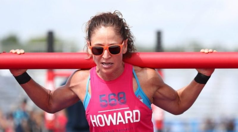 Yvonne Howard at the 2018 CrossFit Games. Photo courtesy of CrossFit Inc