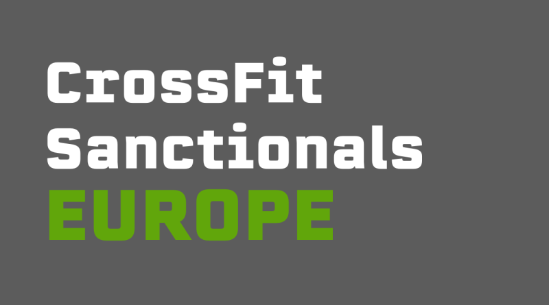 Over the next two years, the CrossFit Europe Regional is being replaced by seven CrossFit Sanctional events.