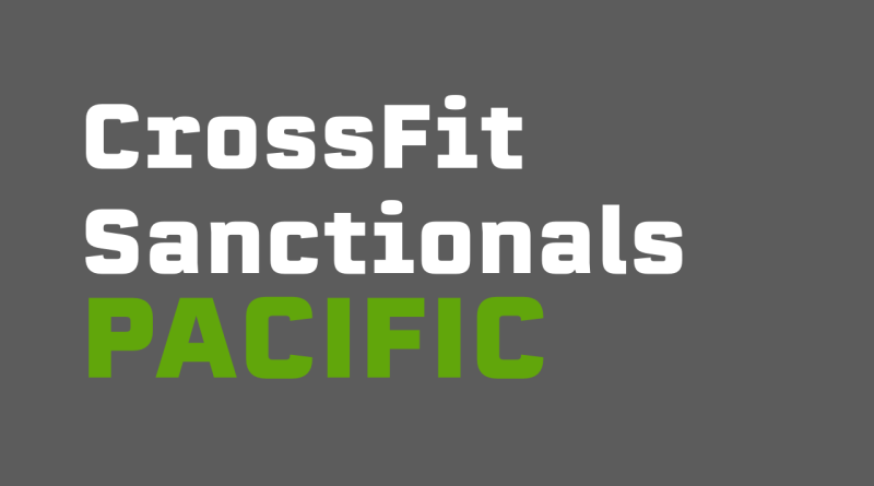 This is our CrossFit Games Regionals and Sanctional Guide for the old Pacific Regional
