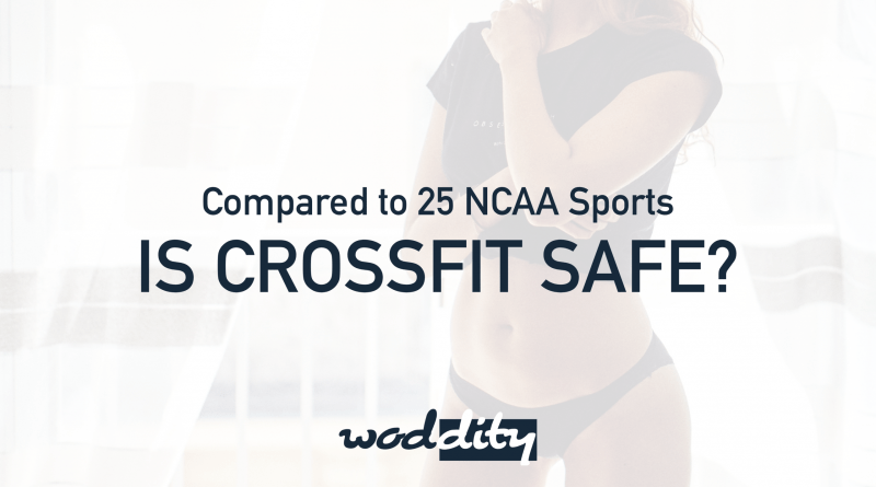 CrossFit injuries and CrossFit injury rates find CrossFit to be more safe than other sports