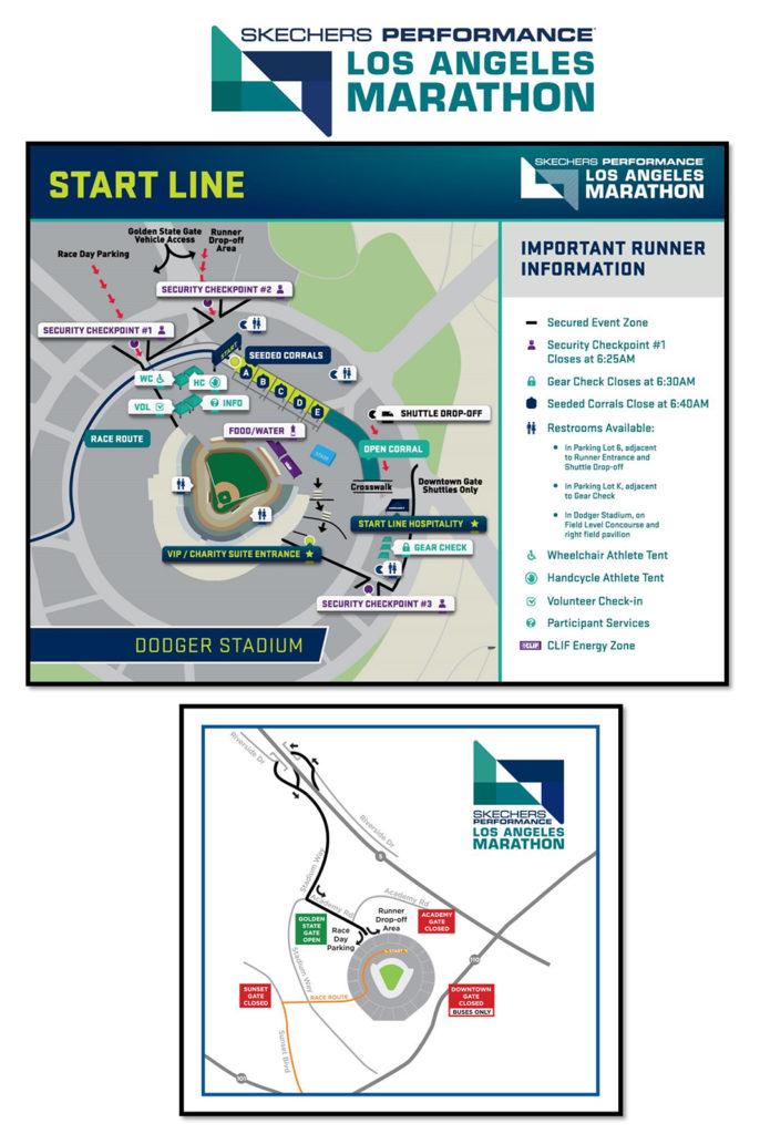 Dodgers Stadium Parking Lot Map : dodgers, stadium, parking, Dodger, Stadium, Marathon, Widows,, Orphans, Disabled, Firefighter's