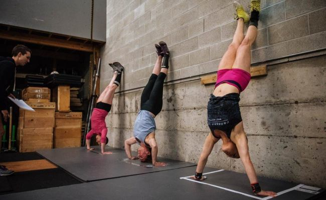 Handstand Push Ups Archives Wodprep Simple Coaching