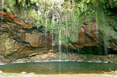Romantischer Wasserfall auf Madeira © by WoDuWo