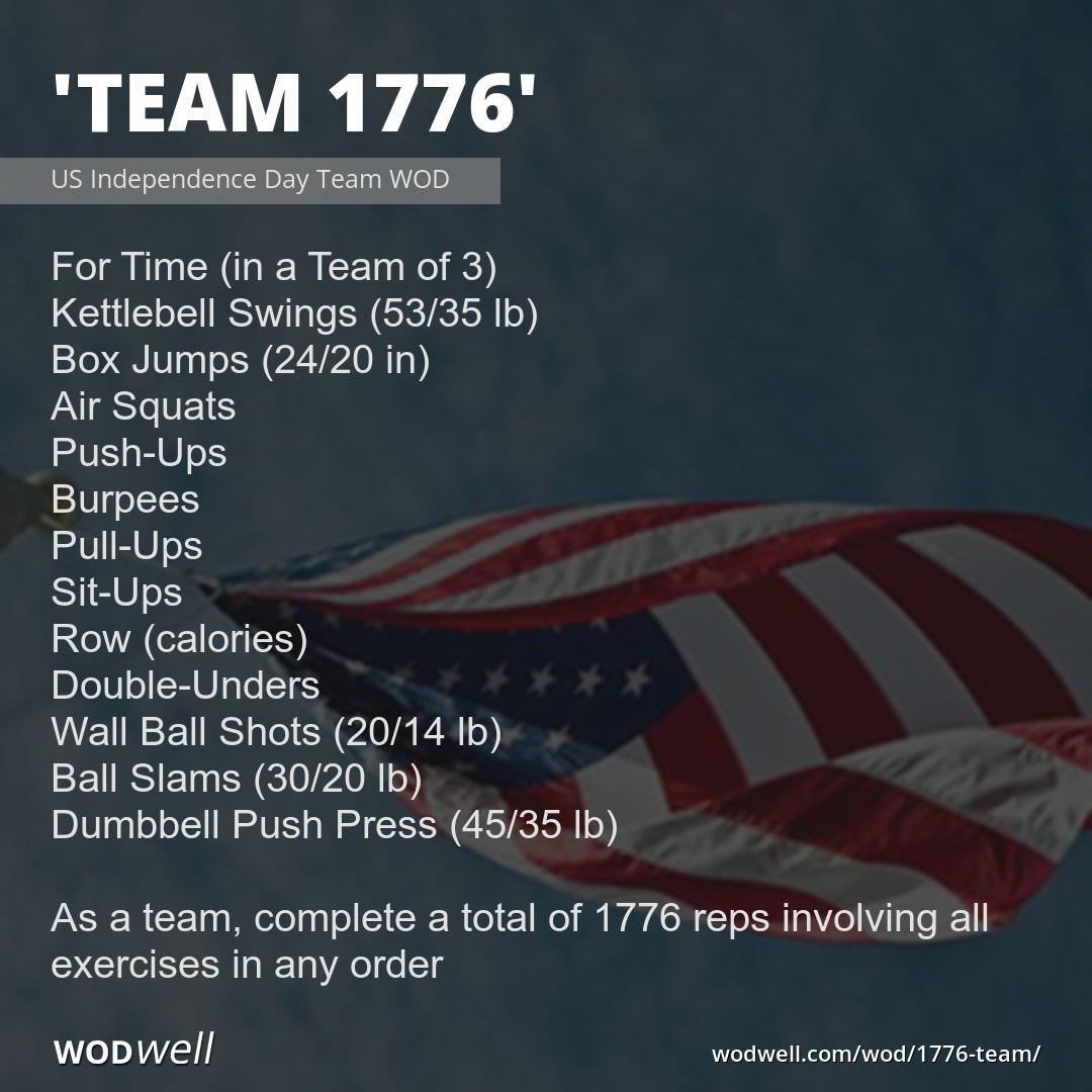 1776 Team WOD