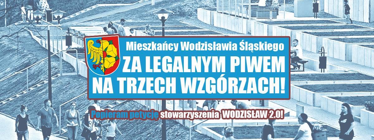 Piwo pod chmurką na Trzech Wzgórzach w Wodzisławiu