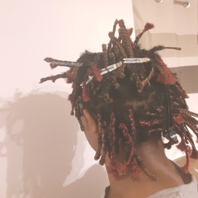 woeful to frofull, braid takedown, tired braids