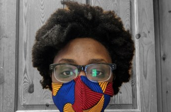woeful to frofull ankara face mask coronavirus