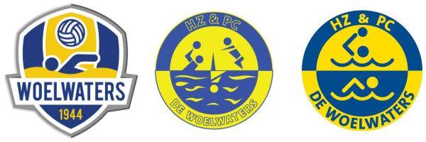 De Woelwaters - historie - logo's